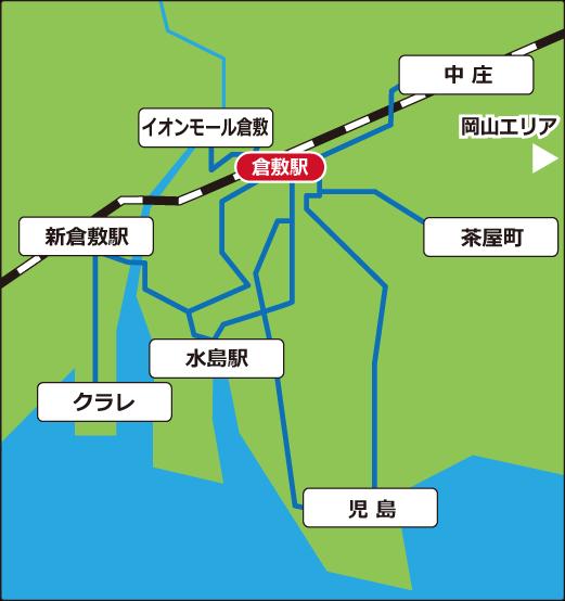 倉敷周辺広域マップ